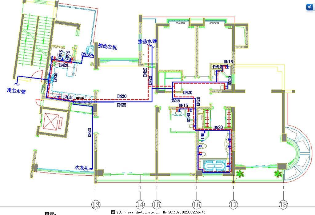 图片儿童走管平面图功能_建筑设计_环境设计水管家具设计冷热图片