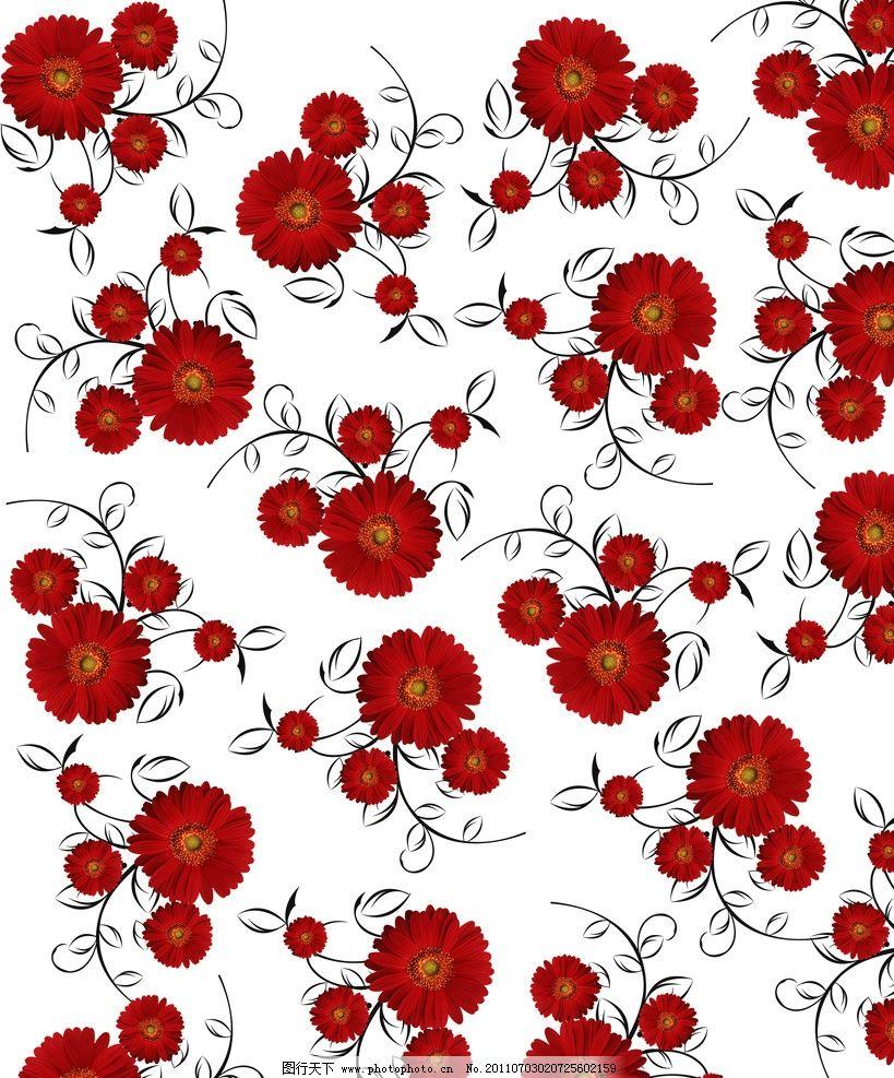 大红花边框图片展示