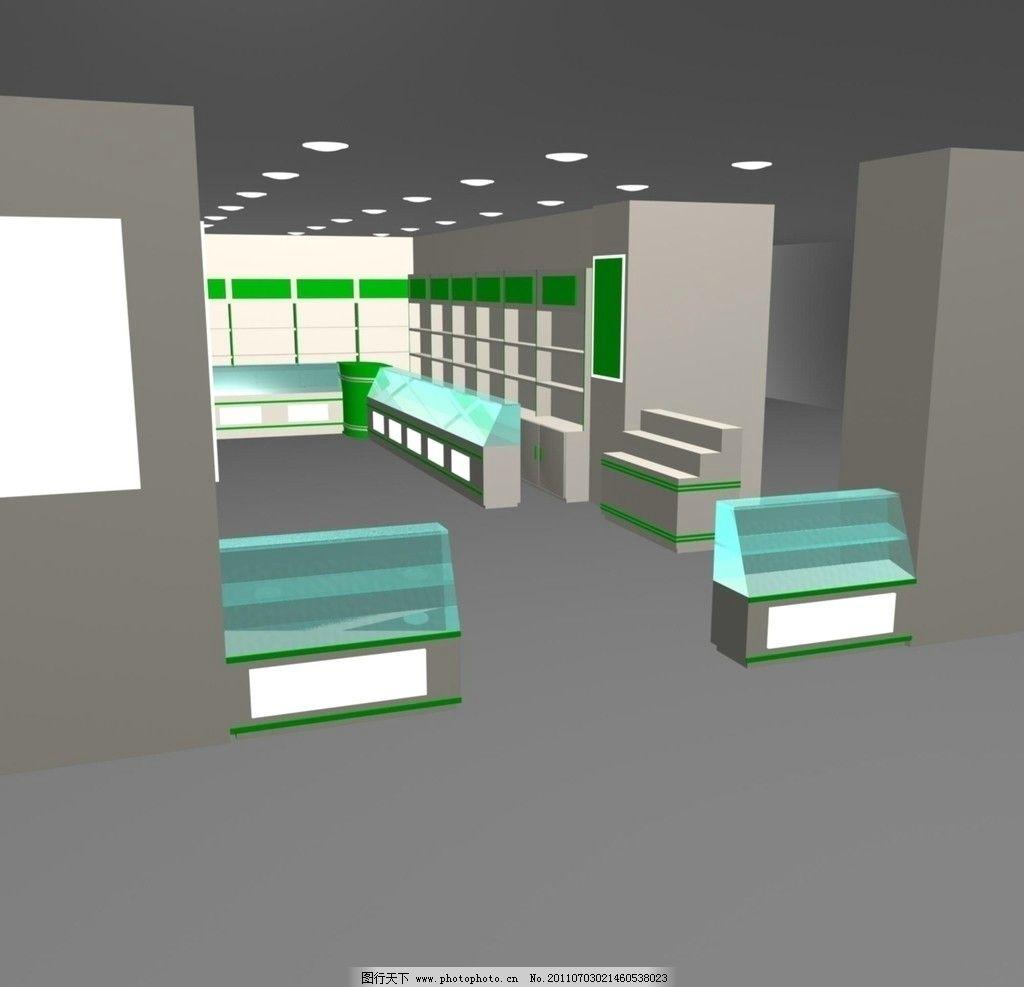 效果图 异形柜 陈列柜 吊顶 手机陈列柜 展示展厅 展示模型 3d设计