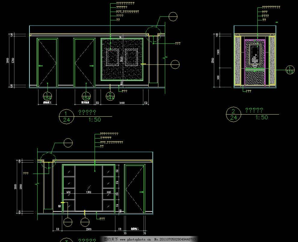 cad dwg 图纸 平面图 素材 装修 装饰 施工图 室内设计 复式住宅 平面