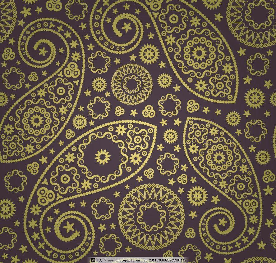 欧式花纹古典花纹图片