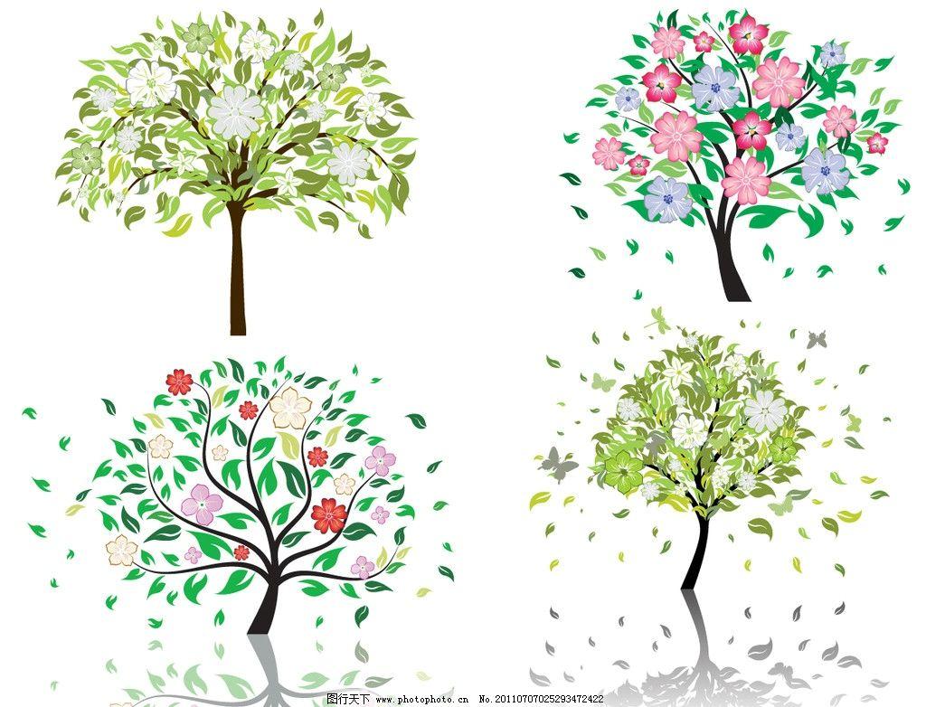 古代草木画-关于花草树木的古诗