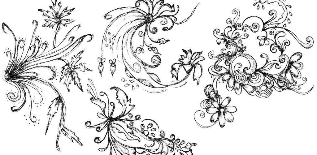 欧式古典花纹模板下载 欧式古典花纹 欧式花纹 手绘古典花纹 古典花纹