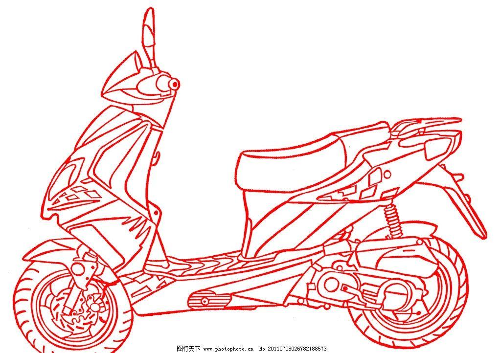 摩托车设计图图片