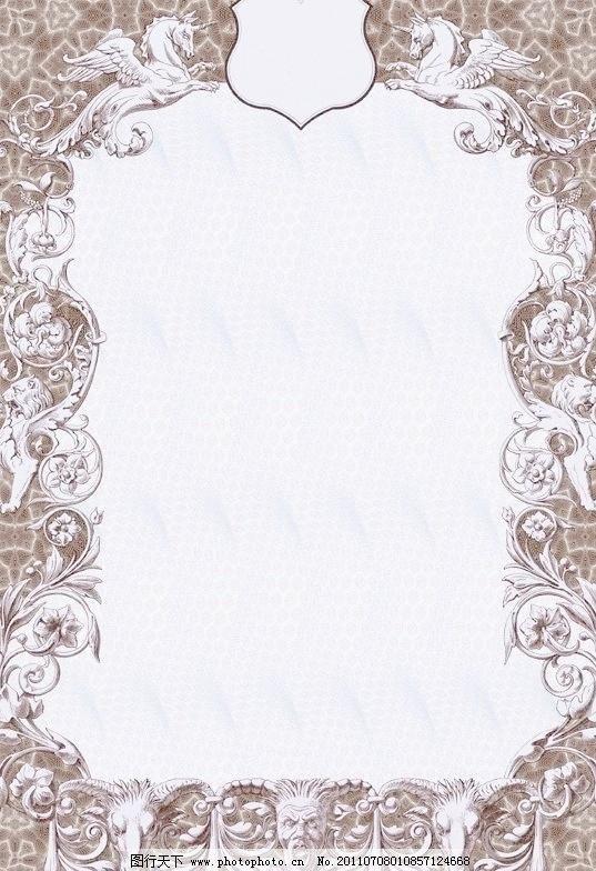 边框相框 欧式背景底纹 欧式相框 欧式花纹边框相框 雕像 雕塑 欧洲