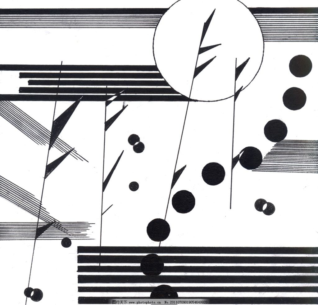点线面综合构型 平面设计 平面构成 圆 绘画书法 文化艺术 设计 300