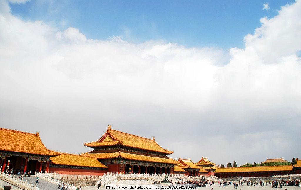 故宫建筑 中国传统 皇家 琉璃瓦 宫墙 帝王 古代建筑 恢宏 大气