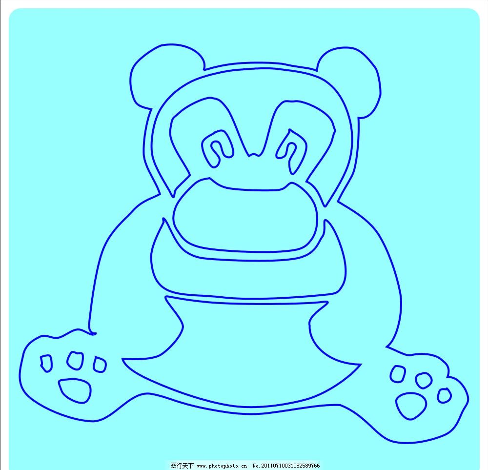 可爱的熊 熊 动物 宠物 可爱 北极熊 矢量 cdr 其他设计 广告设计