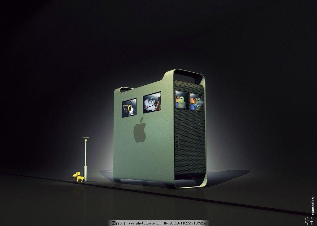 苹果电脑 数码产品 现代科技 设计 100dpi jpg