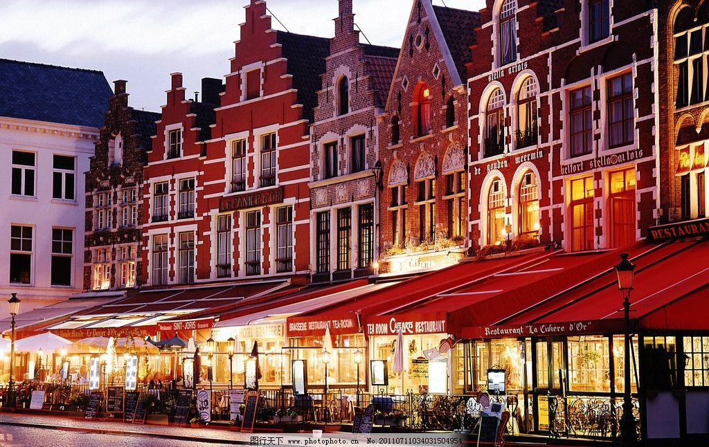欧洲城市风景图片