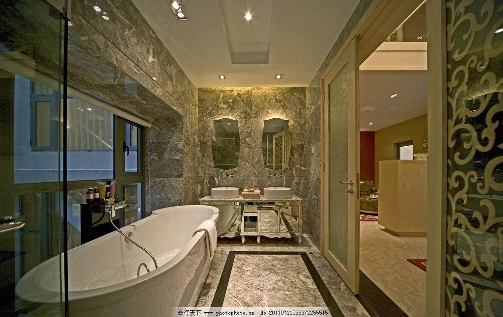 环境设计 室内设计  别墅室内 别墅 华丽 富丽堂皇 建筑 室内 欧式