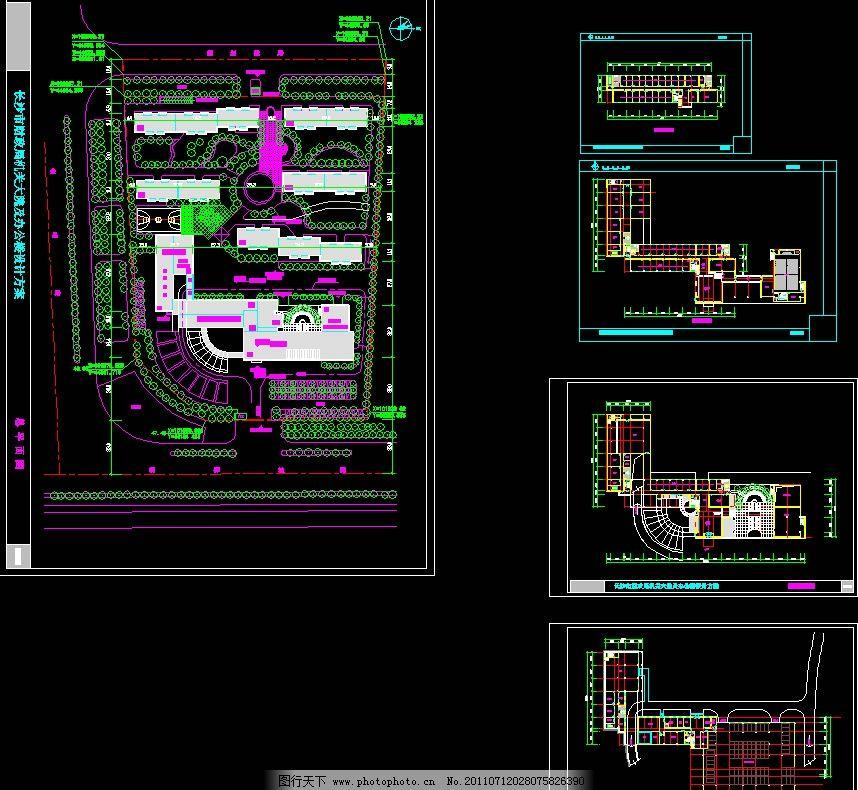 写字台 装修设计 机关 单位 大楼 长沙市财政局机关大院及办公楼设计