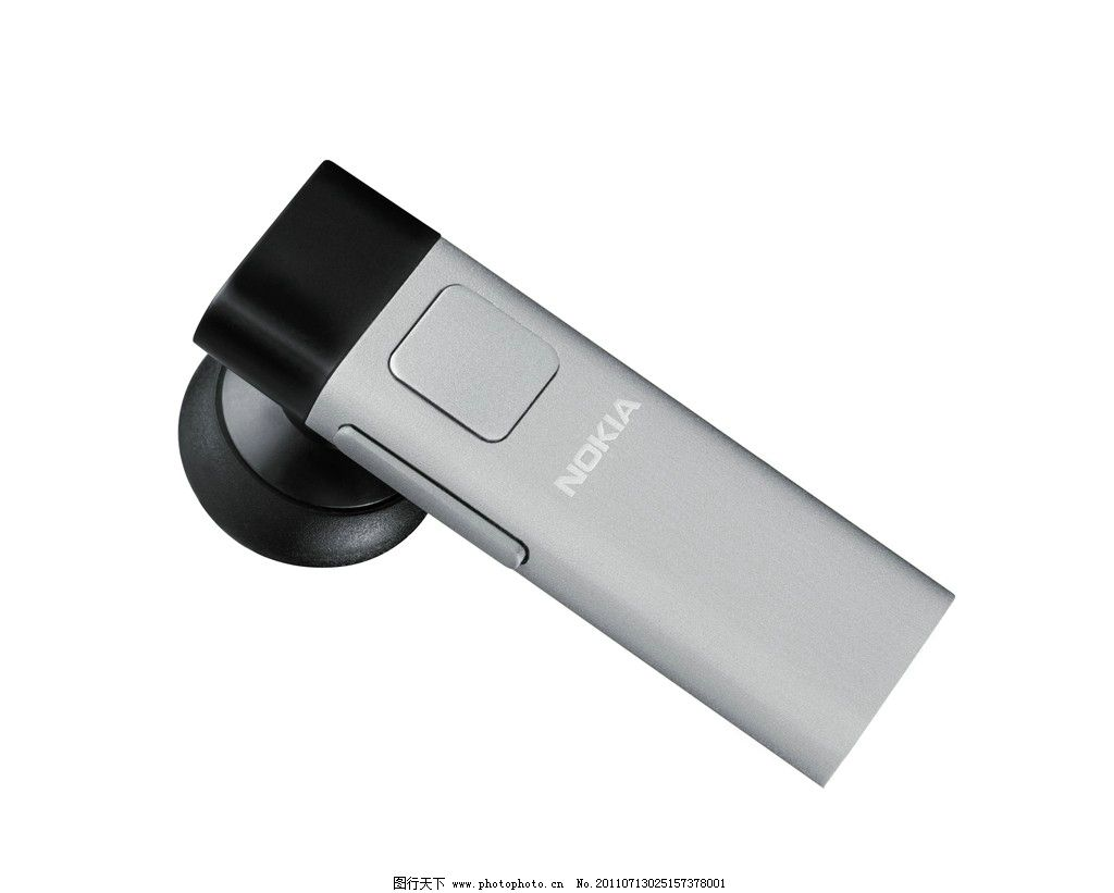 诺基亚/诺基亚蓝牙耳机 bh 804 立体图片