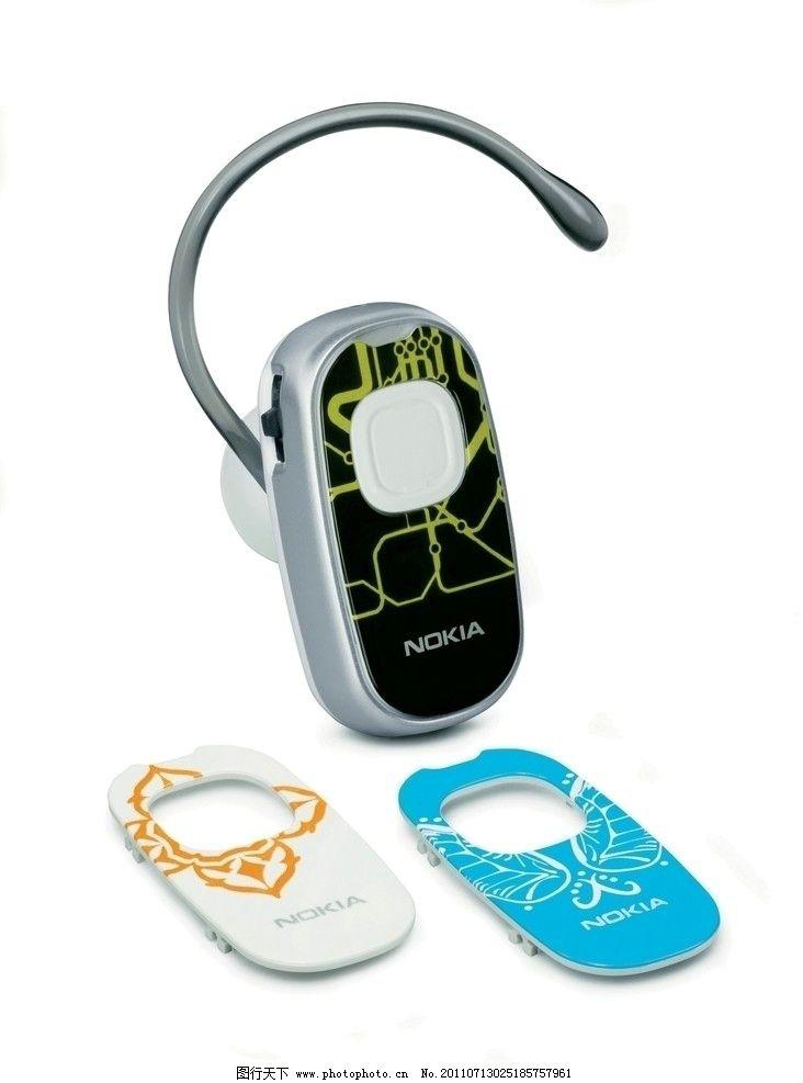 诺基亚蓝牙耳机 bh 304 立体图片