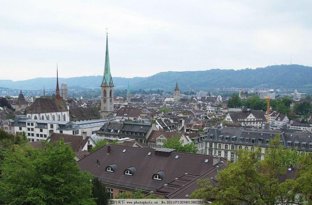 城市风光 城市 风光 外国 楼宇 建筑 街道 远眺 国外旅游 旅游摄影