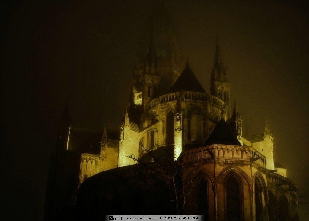 晚上的城堡 晚上 城堡