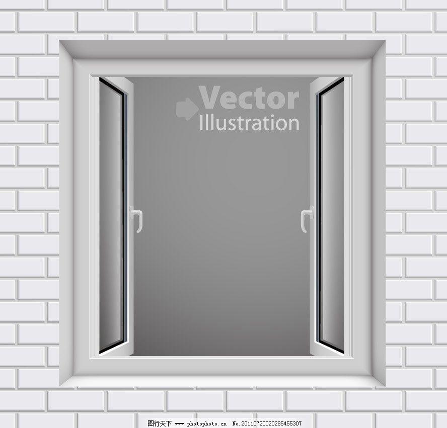 墙壁 窗户 背景 底纹 矢量 花纹矢量图 底纹背景 底纹边框 eps