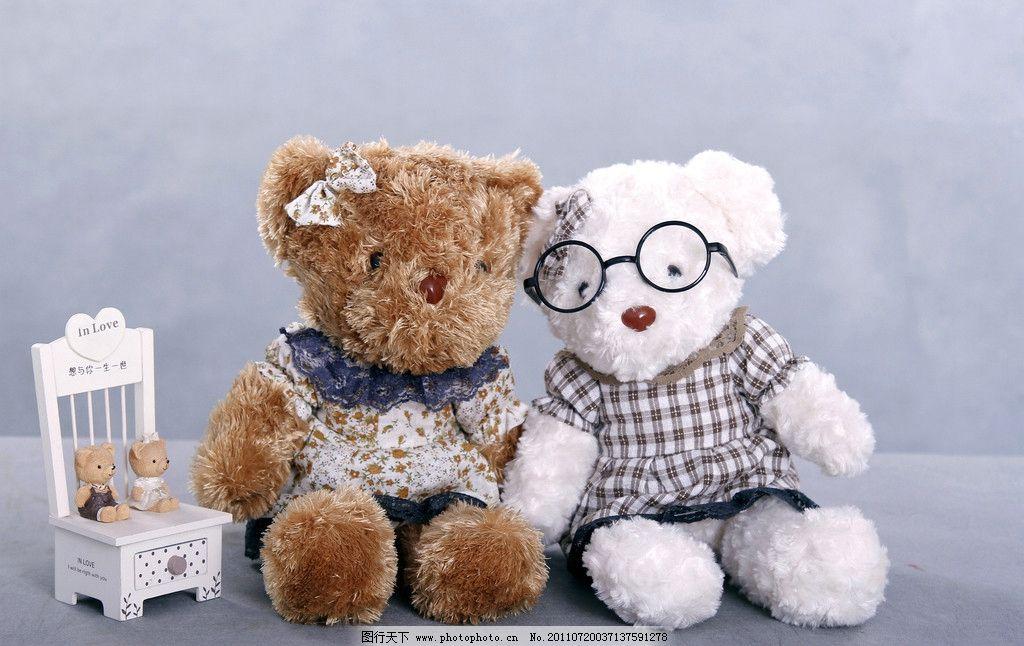 泰迪毛绒玩具 两只小熊 可爱 童趣 泰迪熊 娱乐休闲 生活百科