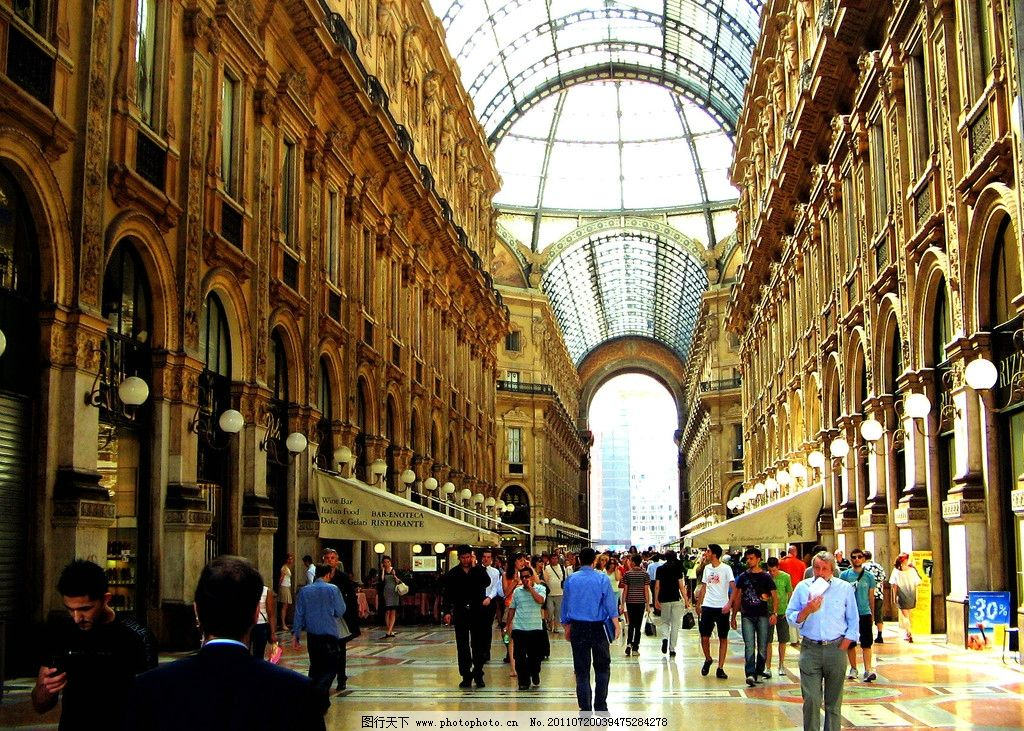 米兰广场 米兰风光 意大利建筑风格 意大利旅游 意大利风景 意大利