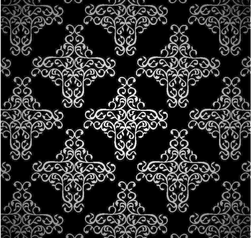 欧式花纹 装饰花纹 欧式古典花纹 欧式花纹花边 黑白花纹 欧式花边