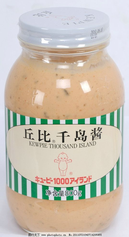 丘比千岛酱 丘比全蛋沙拉酱 丘比沙拉汁焙煎 沙拉汁沙拉酱 水果沙拉