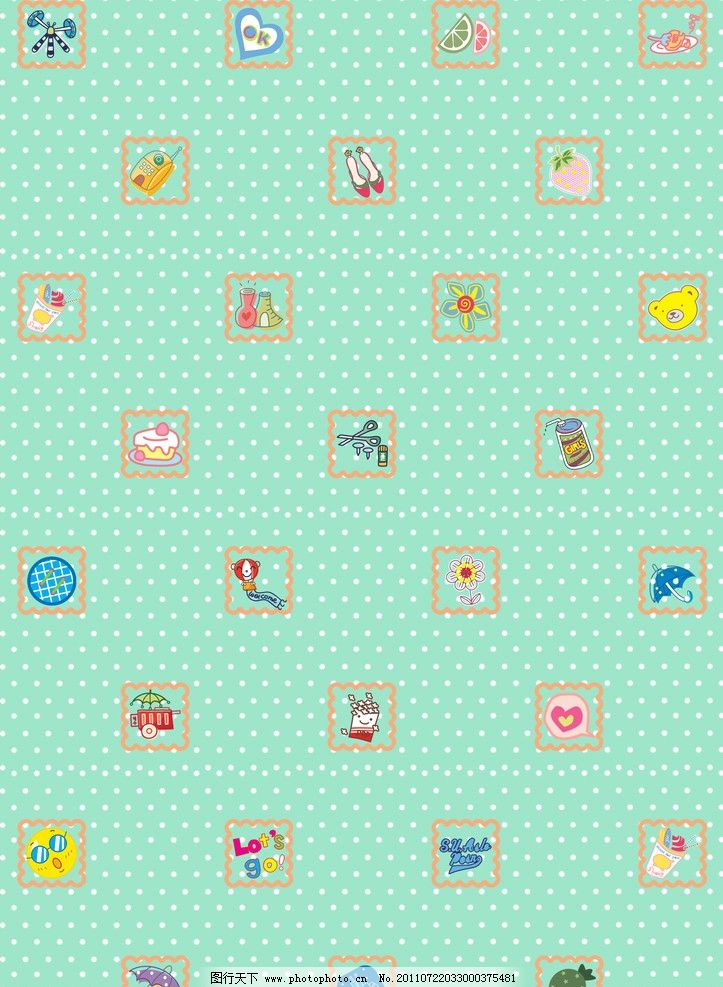可爱的糖果壁纸
