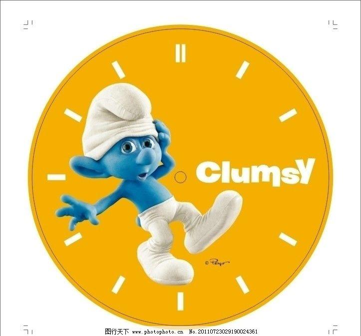 橙色钟表图片_包装设计_广告设计_图行天下图库