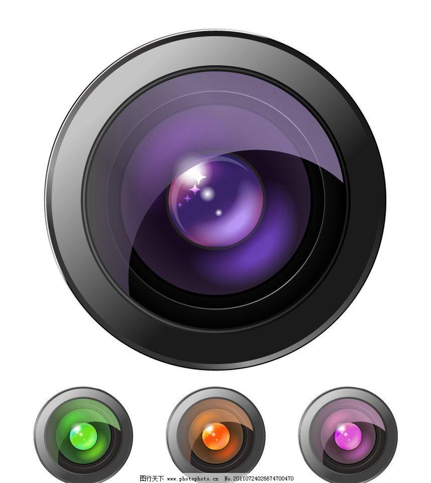 精美镜头 镜头 精美 现代 科技 矢量 现代工业 现代科技 eps