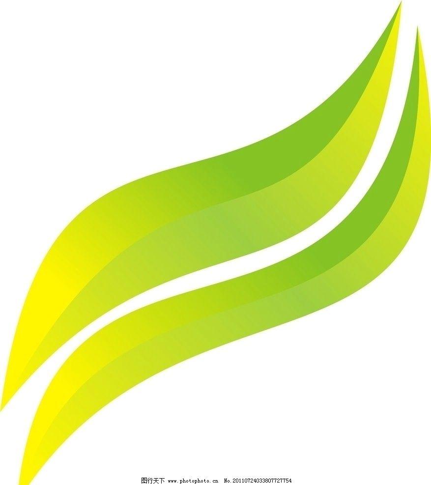 树叶 绿色的树叶 矢量素材 其他矢量 矢量 cdr