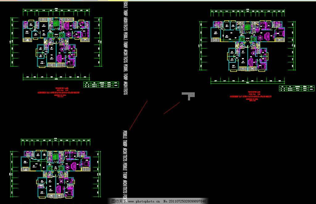 住宅户型平面图 图纸 装修 装饰 施工图 室内设计 楼层 住宅楼