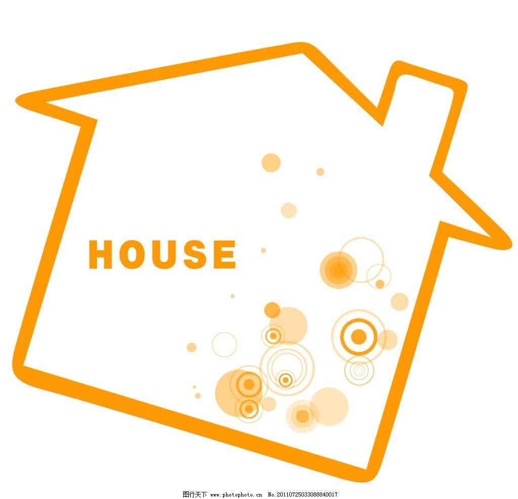 房子形简单边框图片图片