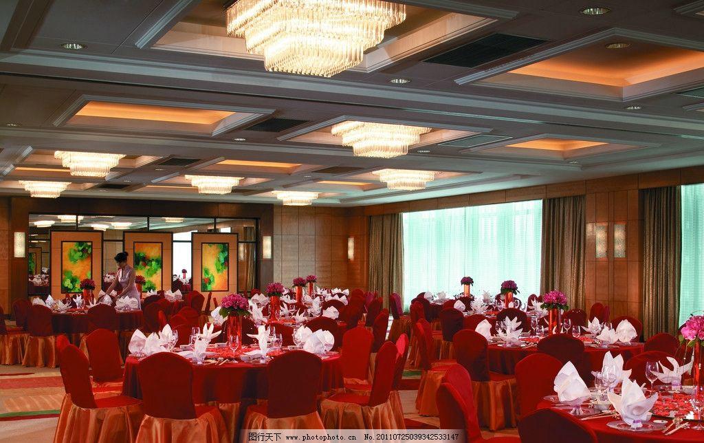 欧式餐厅 桌布 欧式台灯 酒水 红酒 餐桌椅 家具设计 北京 首都 饭店