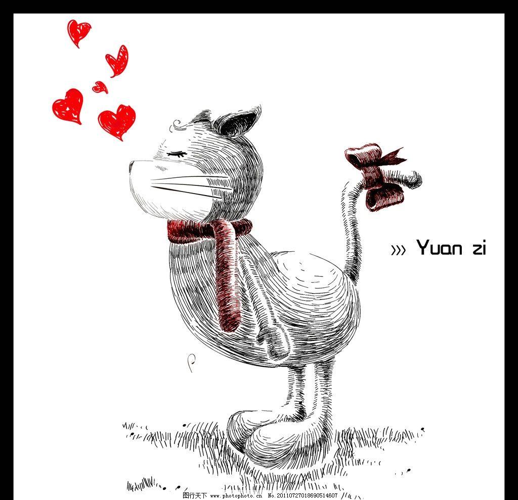 情侣头像猫咪 女女图片