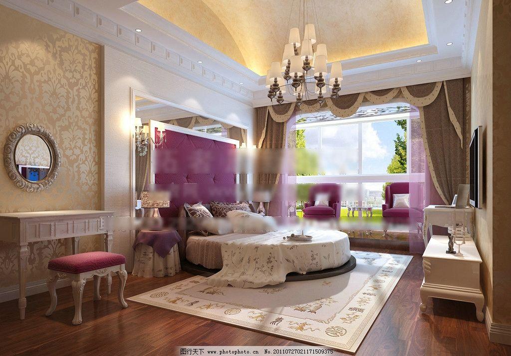 欧式豪华卧室图片