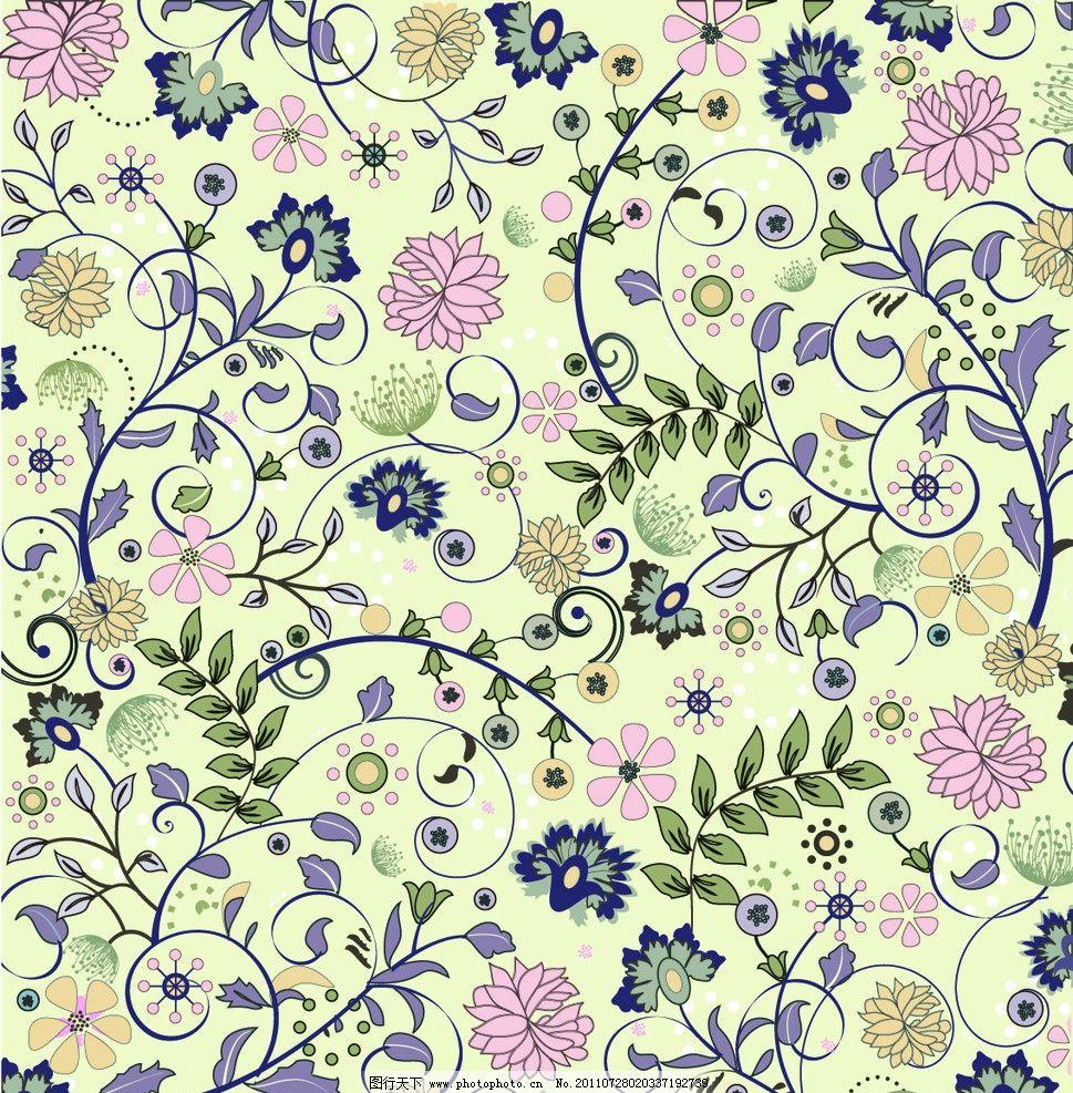 花纹 手绘花纹 手绘 花藤 藤蔓 线描 欧式花纹 欧式花边 缠绕 线条 叶