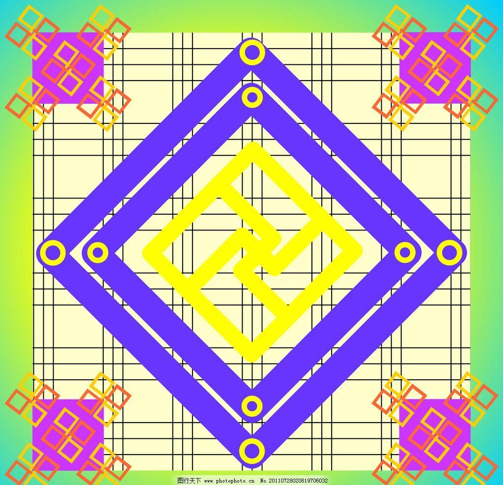 底纹 底纹背景 边框 正方形 圆圈 直线组成的方格 直线的组合图片