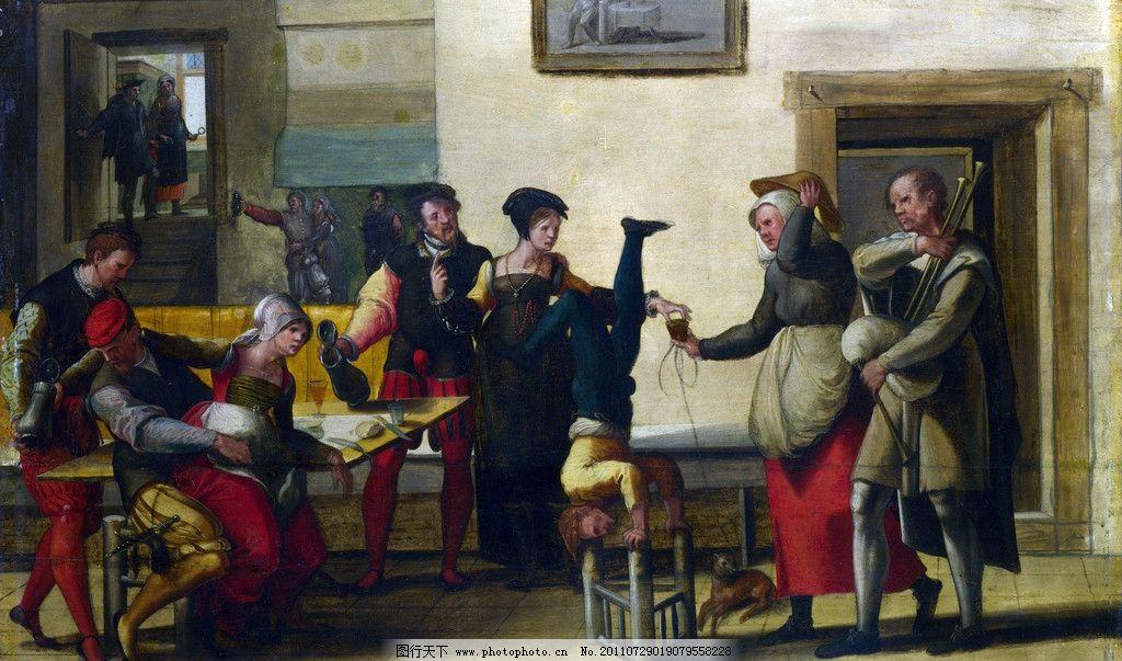 古典欧式油画图片
