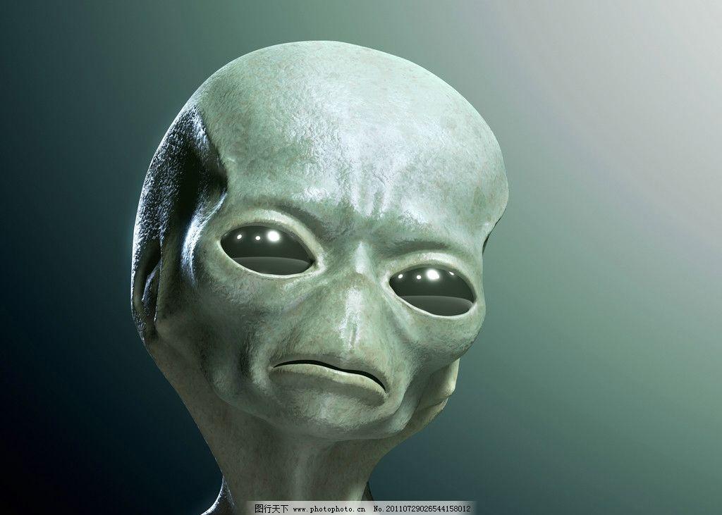 外星人 et 外星生物 飞碟 ufo 科学研究 现代科技 设计 300dpi jpg
