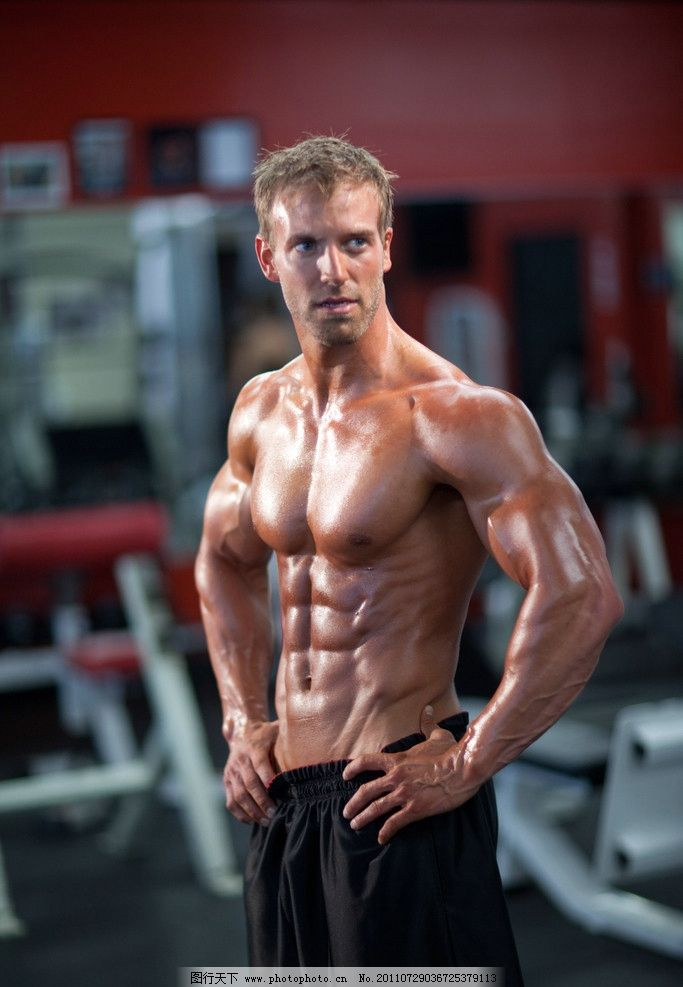 健美男体 时尚 性感 模特 健身 健体 健壮 健康 强壮 运动员