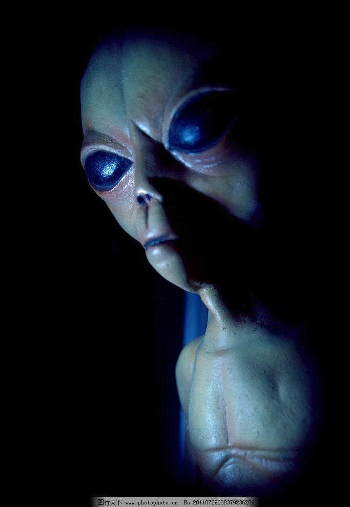 外星人 et 外星生物 飞碟 ufo 科学研究 现代科技 摄影 300dpi jpg