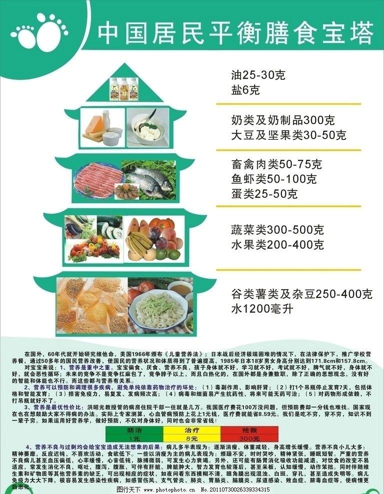 营养饮食金字塔图片