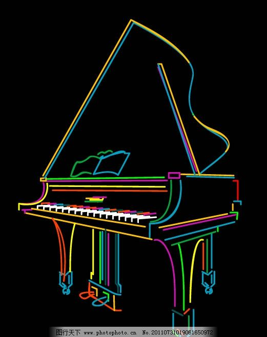 学习一段简单钢琴谱子