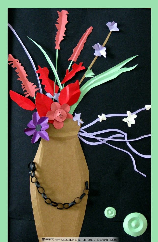 装饰画 花瓶图片