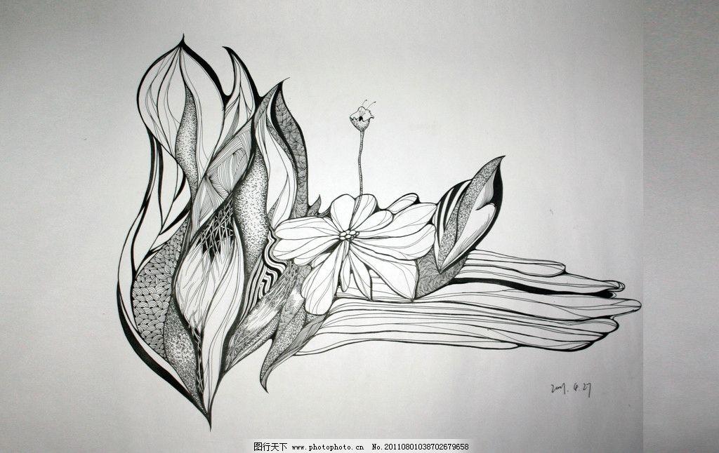 抽象画 平面构成 线条 美术绘画 摄影