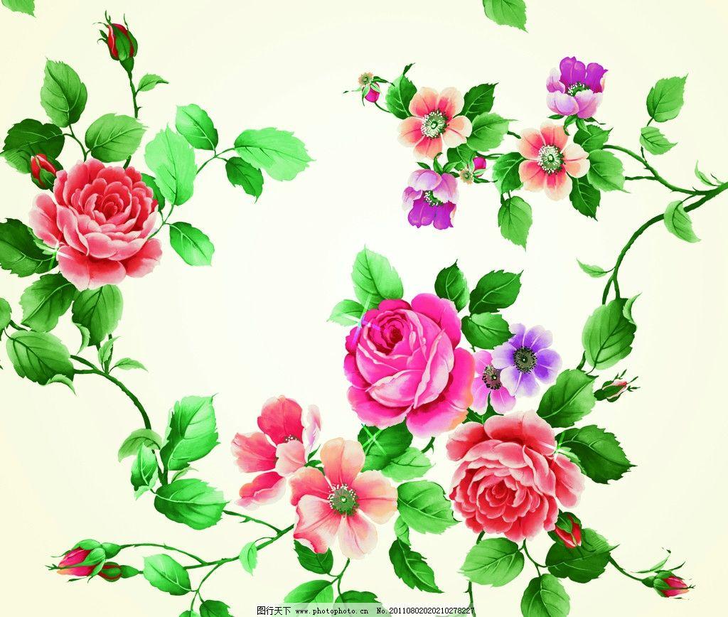 玫瑰花 底图 花纹 背景底纹 底纹边框 设计 72dpi jpg