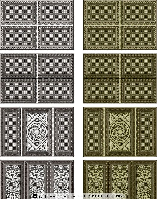 拿来大师 造型 拱门 花纹 欧式花纹 建筑花纹 罗马柱 石膏线条 底纹