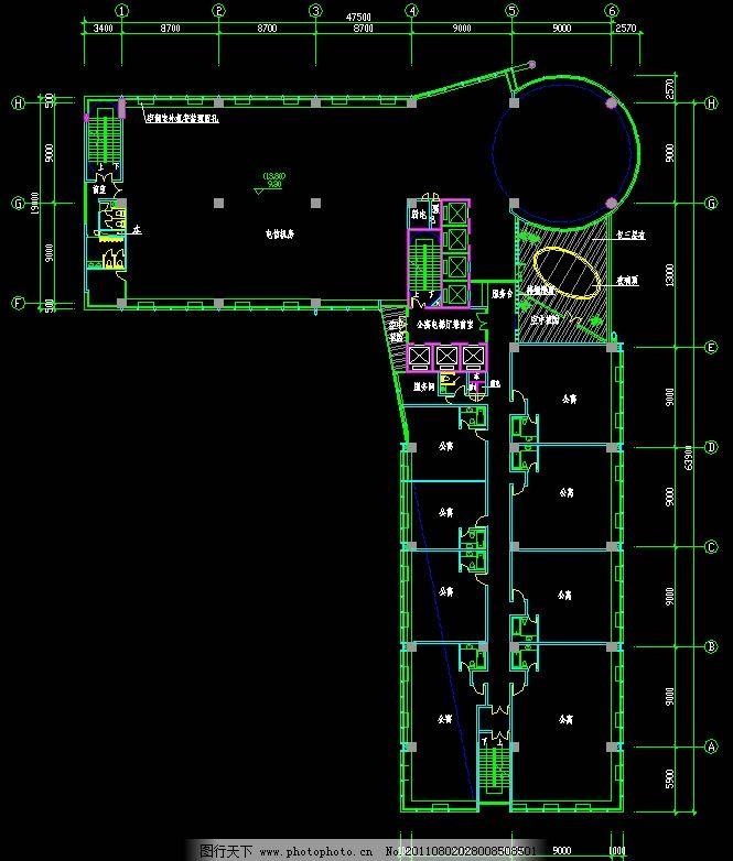 cad dwg 图纸 平面图 素材 装修 装饰 施工图 室内设计 楼层 住宅楼