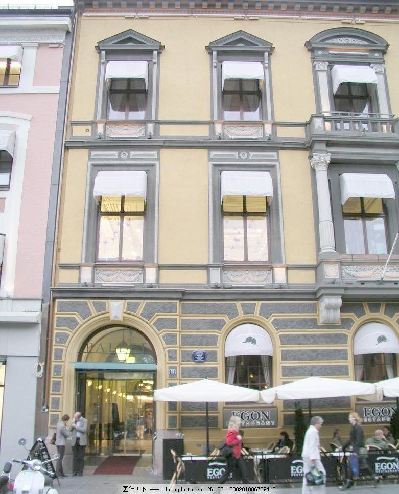 英国 地拼 欧式建筑外观 外观拍摄 商场 街道 商场入口 门头 欧式门头