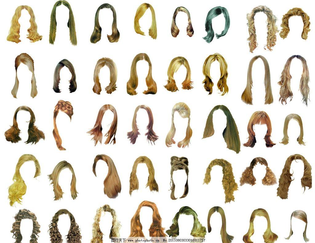 女士发型图图片图片