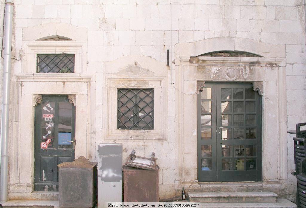 城堡 窗户 店面设计
